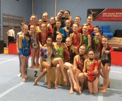 Acro Elite medallists 2017