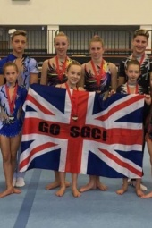 medals all round for Team SGC